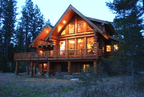 Cle elum rentals suncadia rental homes vacation house for Three story log cabin